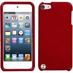 INSTEN Solid Red Protector iPod Case Cover for Apple iPod touch 5