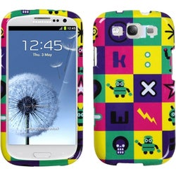 INSTEN Robot/ Lightening Skull Phone Case Cover for Samsung Galaxy S III i9300