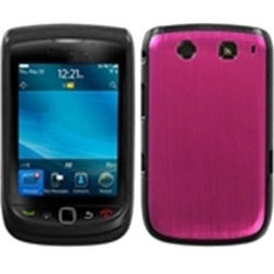 BasAcc Hot Pink/ Warp Speed Case for Blackberry Torch 9800/ 9810 4G
