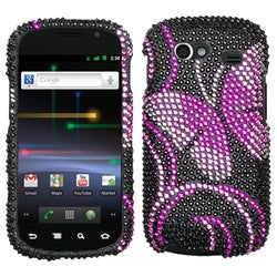 BasAcc Fairyland Butterfly Diamante Case For Samsung� Nxs Nexus S