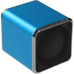 BasAcc Mini Blue Speakers for PC/ MP3 Player/ Cell Phone