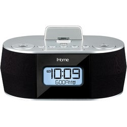 iHome iDN38SX Clock Radio - Stereo - Apple Dock Interface