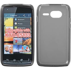 BasAcc Semi-Transparent Smoke Candy Skin Case for Kyocera C5133