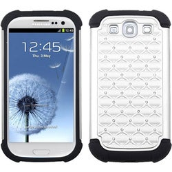 BasAcc White/ Black Total Defense Case for Samsung Galaxy S III/ S3