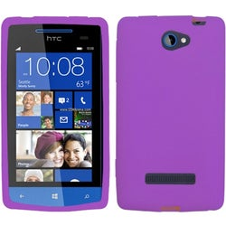 BasAcc Solid Electric Purple Skin Case For HTC 8S Accord