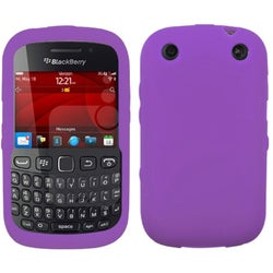 BasAcc Solid Electric Purple Skin Case For Blackberry 9310 Curve