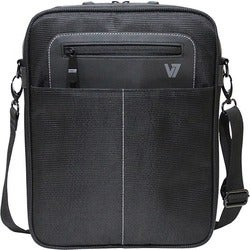 "V7 Cityline Carrying Case (Messenger) for 10.1"" Tablet PC, iPad - Bla"