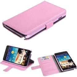 BasAcc Pink MyJacket Wallet Case for Samsung Galaxy Note i717/ T879