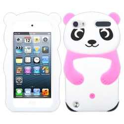 BasAcc White Panda with Pink Hands Case for Apple iPod Touch 5