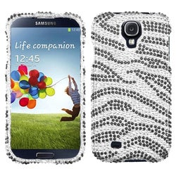 BasAcc Zebra Diamante Case for Samsung Galaxy S4/ S IV i9500/ i337
