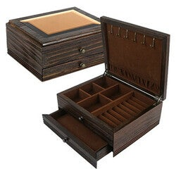 Quality Importers Montpelier Jewelry Box