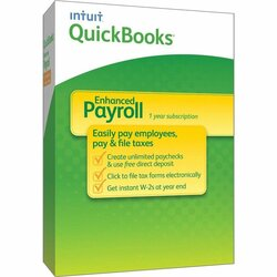 QuickBooks Payroll 2014 Enhanced - Subscription Package - 1 User