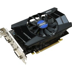MSI R7 250 2GD3 OC Radeon R7 250 Graphic Card - 1050 MHz Core - 2 GB