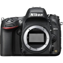 Nikon D610 24.3 Megapixel Digital SLR Camera (Body Only) - Black
