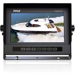 "Pyle PLMRM72B 7"" Active Matrix TFT LCD Marine Display - Black"