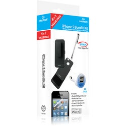 Hypercel Naztech 4 in 1 Bundle Kit for Apple iPhone 5