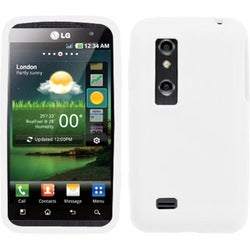 BasAcc Solid Cover White for LG P925 Thrill 4G