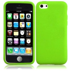 BasAcc Neon Green Silicone Case for Apple iPhone 5C