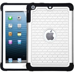 BasAcc White/ Black TotalDefense Case for Apple iPad Mini