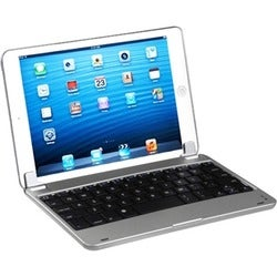 BasAcc Silver Bluetooth Wireless Keyboard for Apple iPad Mini