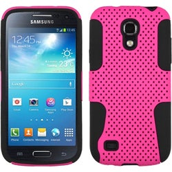 INSTEN Hot Pink/ Black Astronoot Phone Case Cover for Samsung Galaxy S4 Mini