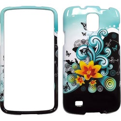 INSTEN Premium Lily Hard Plastic PC Snap-on Phone Case Cover for Samsung Galaxy S4 Active