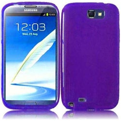 BasAcc Purple TPU Case for Samsung Galaxy Note 2 N7100