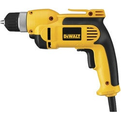 "Dewalt DWD110K 3/8"" (10mm) VSR Pistol Grip Drill Kit with Keyless Chu"