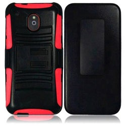 INSTEN Holster Phone Case Cover with Stand for HTC Mini/ M4