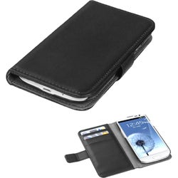 BasAcc Book-style Leather Wallet Case for Samsung Galaxy S3/ III i9300
