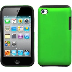 INSTEN Apple Green Fusion iPod Case Cover for Apple iPod touch 4