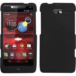 BasAcc Black Rubberized Case for Motorola XT907 Droid Razr M