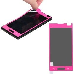 BasAcc Pink Coating Screen Protector for LG P769 Optimus L9