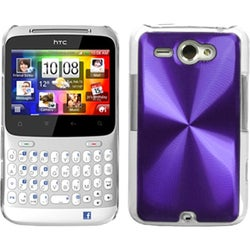 BasAcc Purple Cosmo Back Case for HTC Status/ Chacha