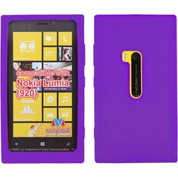 BasAcc Solid Electric Purple Skin Case For Nokia 920 Lumia