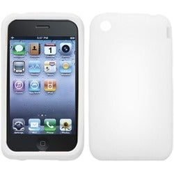 BasAcc Solid White Skin Case For Apple iPhone 3GS/ 3G
