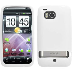 BasAcc Solid White Skin Case For HTC ADR6400 Thunderbolt