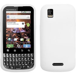 BasAcc Solid White Skin Cover for Motorola MB612 XPRT