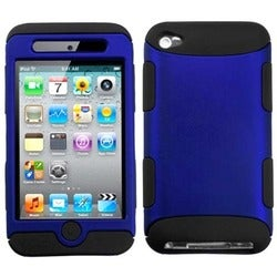 BasAcc Titanium Dark Blue/ Black TUFF Case for Apple iPod Touch 4