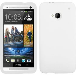 BasAcc White Skin Case for HTC One/ M7