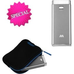 BasAcc Silver 5600 mAh Li-ion Power Bank