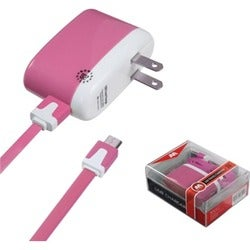 INSTEN Pink Micro USB Travel Charger