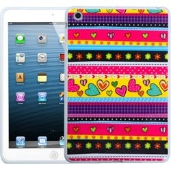 BasAcc Sketched Bars Candy Skin Case for Apple iPad Mini