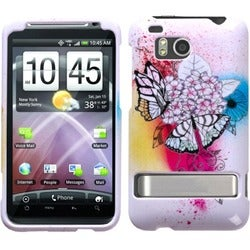 INSTEN Butterfly Paradise Phone Case Cover for HTC ADR6400 Thunderbolt
