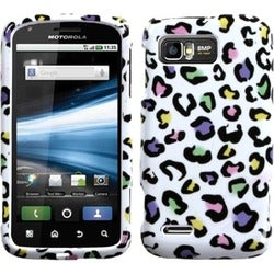 BasAcc Colorful Leopard Phone Case for Motorola MB865 Atrix 2
