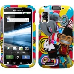 INSTEN Circus Phone Case Cover for Motorola MB860 Olympus/ Atrix 4G