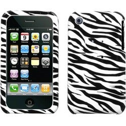 BasAcc Zebra Skin Case for Apple iPhone 3GS/ 3G
