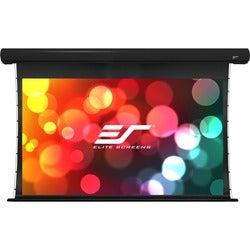 Elite Screens STT100UWH-E24 Starling Tab-Tension Ceiling/Wall Mount E