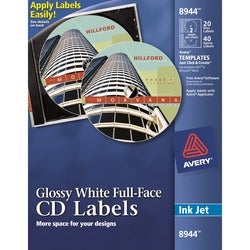 Avery Dennison Full Face CD Label