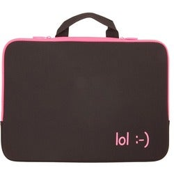 "Urban Factory Carrying Case (Sleeve) for 15"" Notebook - Fuchsia"